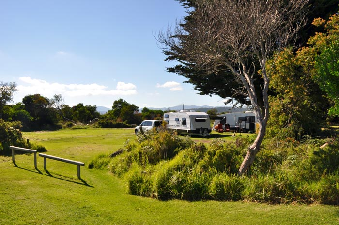Camping Tasmania, Tent & Camping sites, Campervan sites, Port Sorell